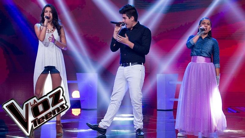 Camy, Jennifer y Óscar cantan 'Recuérdame'   Batallas   La Voz Teens Colombia 2016