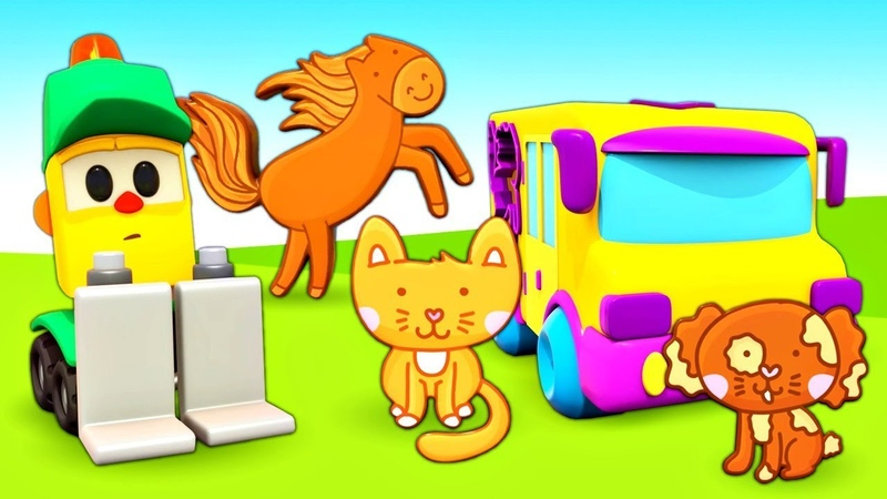 Развивающие мультики Магазин Грузика учим Животных для детей