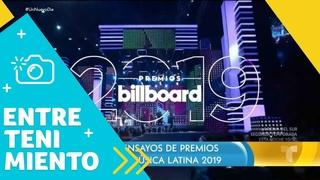 Comenzaron los ensayos para los Premios Billboard 2019 | Un Nuevo Día | Telemundo