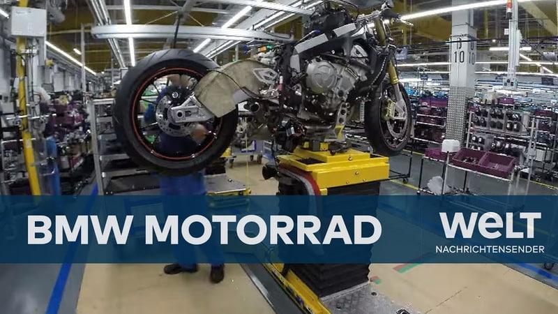 BMW Motorrad Werk Berlin - Wie ein BMW S 1000 RR Superbike entsteht | Doku
