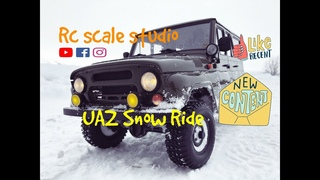 #rcscalestudio 1/8 scale rc off road car UAZ with rc4wd gelande 2 chasis