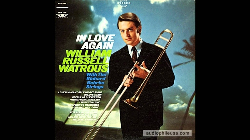 Bill Watrous trombone solo Softly as I Leave You from his first solo album