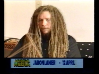 Jaron Lanier virtual reality pioneer/musician, Feb. '97, Heart of the Matter
