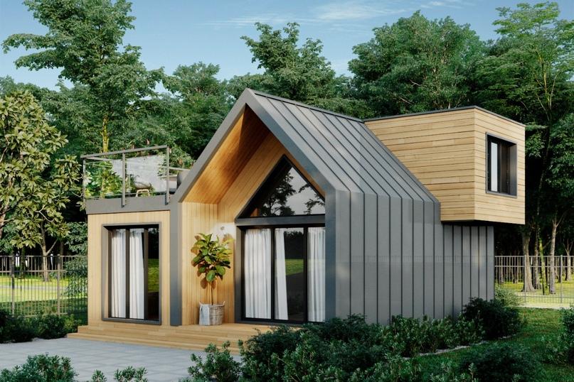 Представляем проект дома площадью 64кв.м., изображение №1