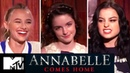 Annabelle Comes Home Scariest Moments From Filming Cast Play Would You Rather