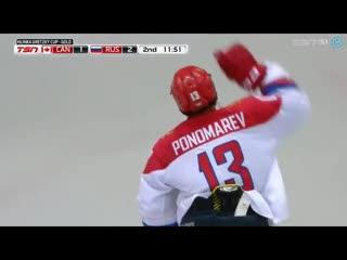 Финал Кубок Глинки, Гретцки. Обзор голов Канада 2-3 Россия.