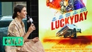 Nina Dobrev Talks About Starring In Lucky Day, The New Film From Roger Avary