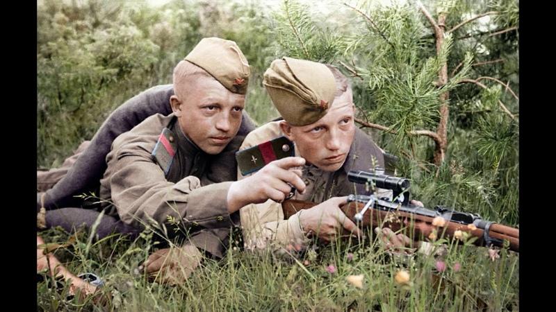 Вторая мировая война в цвете часть1 WORLD WAR 2 IN COLOR part 1