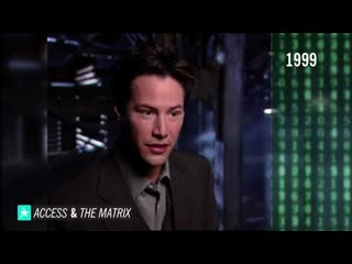 The matrix flashback_ watch a young keanu reeves gush over being a part of the