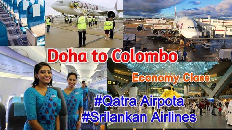 Doha TO colombo SriLankan Airlines
