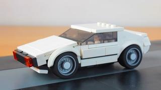 Lego Lotus Esprit  from James Bond MOC