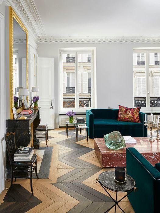 Реконструкция светлой квартиры в Париже от Alexis Mabille || 01