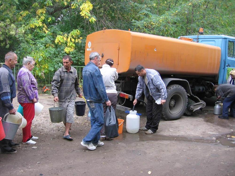 Информация о пунктах подвоза воды на время ограничения водоснабжения и ремонта Донского водовода