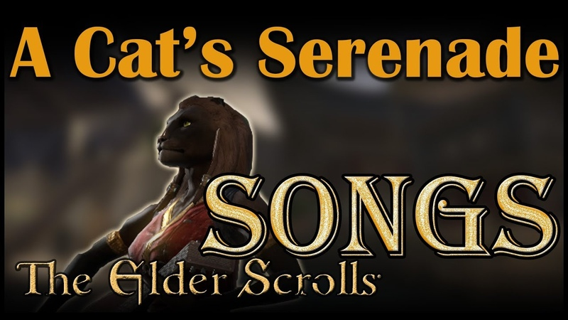 ESO Songs Elsweyr A Cat's Serenade