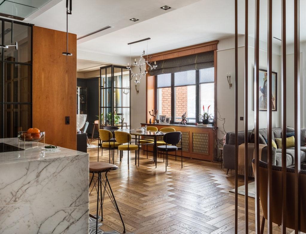 Квартира в комплексе Barrin House по проекту Анастасии Стенберг, 115 м² || 01