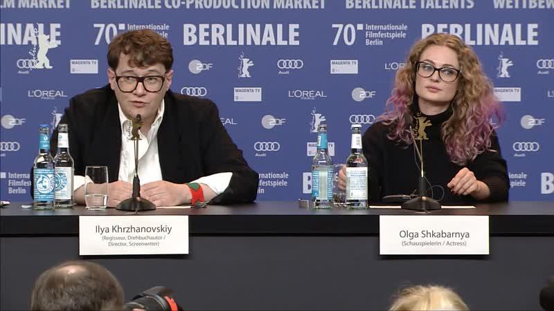 ДАУ. Наташа (2020) - Пресс-конференция в Берлине