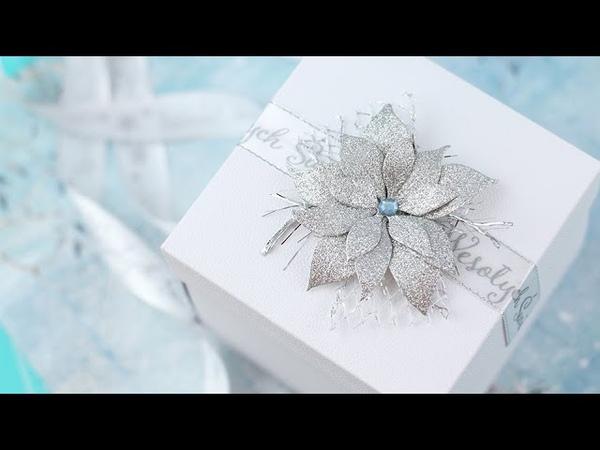 Świąteczny exploding box z niespodzianką cz I
