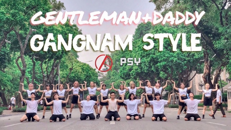 KPOP IN PUBLIC CHALLENGE PSY GENTLEMAN DADDY GANGNAMSTYLE Dance Cover By C A C from Vietnam