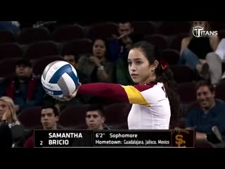 Fantastic Volleyball by Samantha Bricio (Samy) - Powerful Server