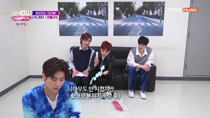[02.04.19] Show! Champion Behind @ Haein-hyung is watching...N.Flying dramas famous lines