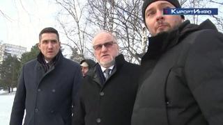 На старейшем гидротехническом сооружении Сестрорецка побывал с инспекцией вице-губернатор Петербурга