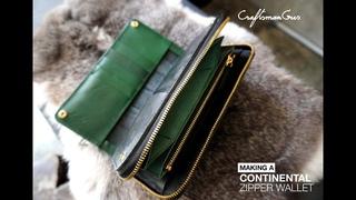 Continental Zipper Wallet #LeatherAddict EP58