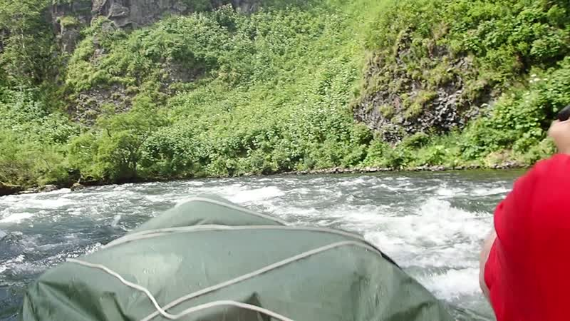 Камчатка. река Опала, порог.