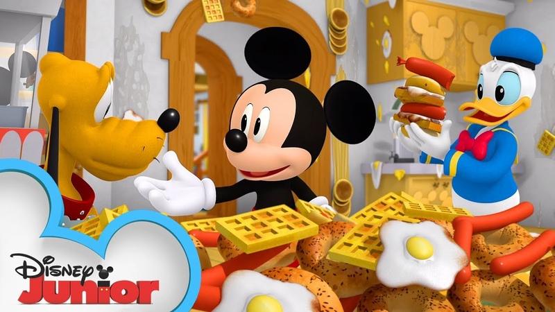 Mickeys Breakfast Blast 🍳   Mickey Mouse Hot Diggity Dog Tales Disney Junior