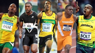 Top 10 Fastest Men in the 100m