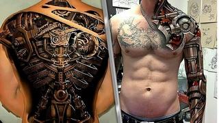 Лучшие татуировки МИРА! ОГНЕННАЯ подборка