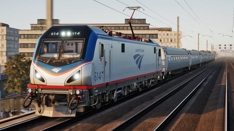 Снова не доехал до конечной! Нью-Йоркский Аэроэкспресс - Train Sim World: NEC New York