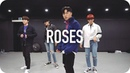Roses - Chris Brown / Jinwoo Yoon Choreography with SF9 Youngbin, Taeyang, Chani