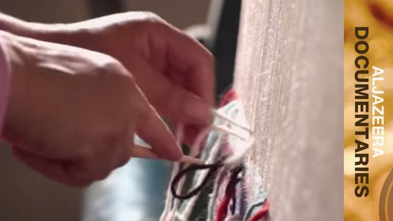 The art of carpet weaving Sihem Ben Aissa My Tunisia 🇹🇳