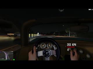 [steering wheel gameplays] gta v steering wheel & manual transmission mod test #3 | logitech g27
