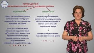 Русский язык 8 класс  Синтаксический и пунктуационный разборы предложений