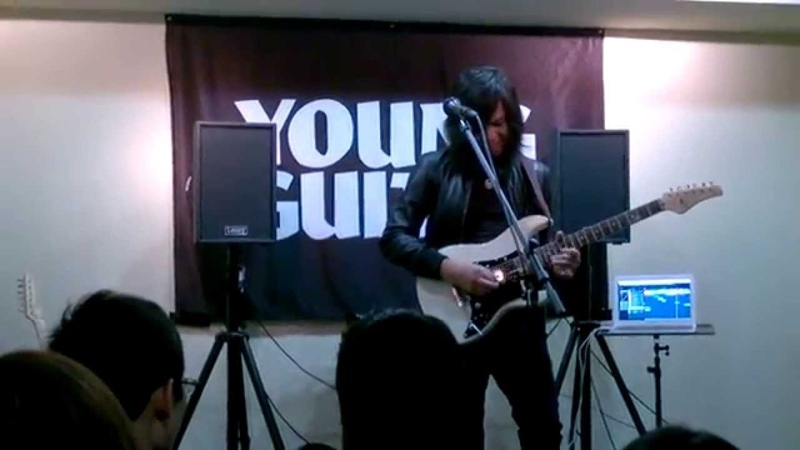 Jack Thammarat Laney Clinic at YOUNG GUITAR ,Tokyo, Japan(34)