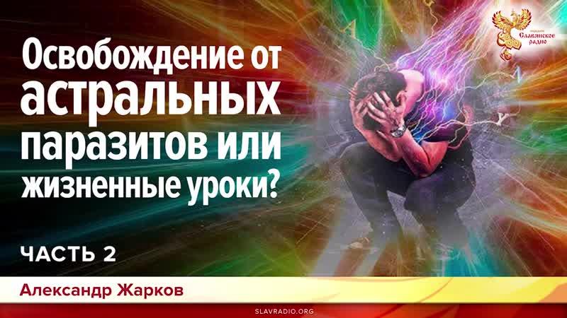Освобождение от астральных паразитов или жизненные уроки Александр Жарков. Часть 2