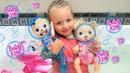 КУКЛЫ ПУПСИКИ! БЕБИ ЭЛАЙВ ИСПАЧКАЛАСЬ И СТАЛА РУСАЛКОЙ! Видео с куклами для детей