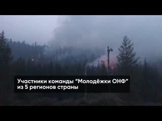 Команда Молодежки ОНФ приступила к работе в Иркутской области