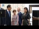 La reina Letizia sorprende en la inauguración de ARCO enfundada en cuero