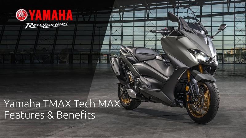 2020 Yamaha TMAX Tech MAX Features Benefits
