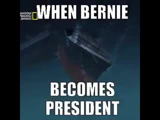 When bernie becomes president