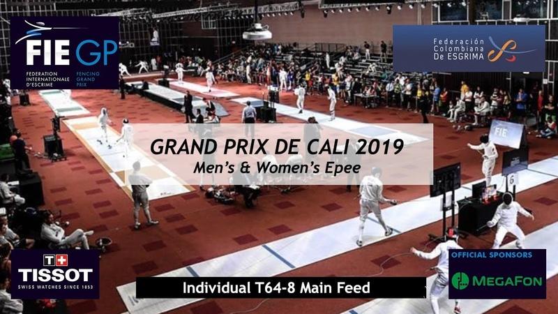 Epee Grand Prix Cali 2019 - main feed