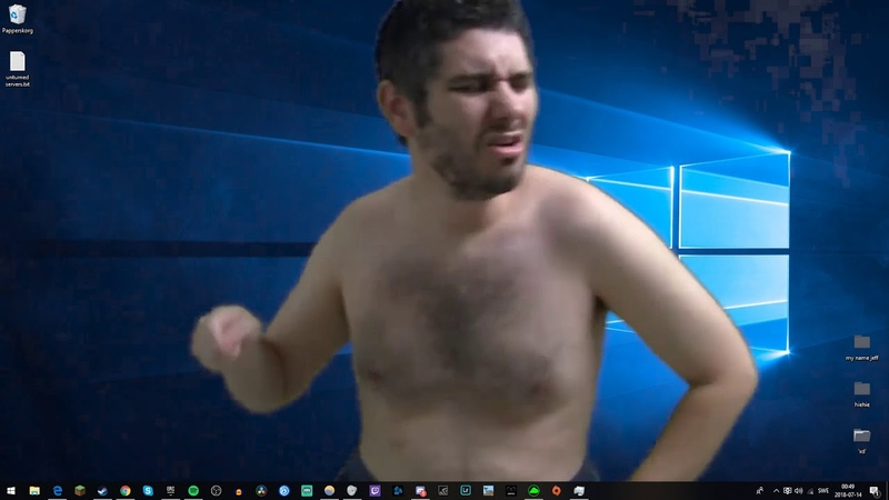 H3h3 dancing to lil pump
