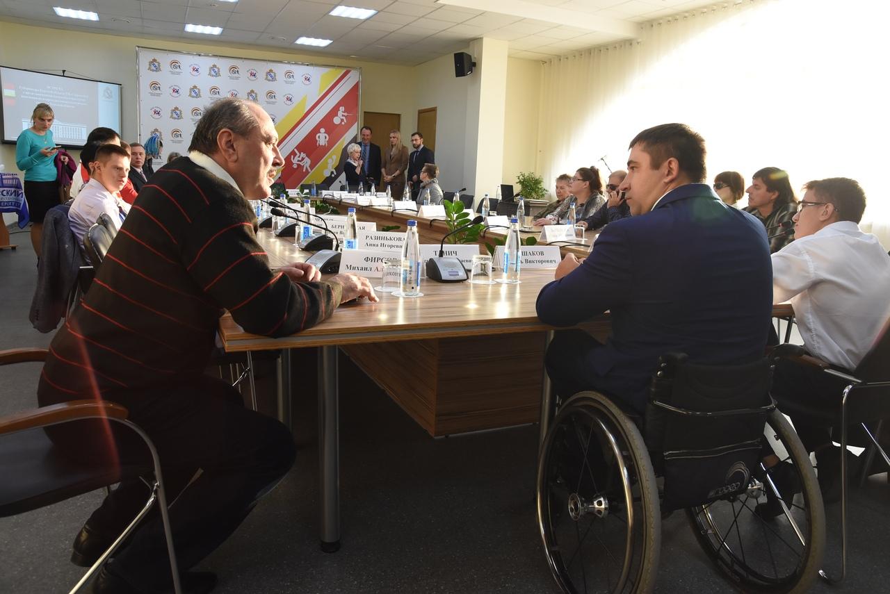 В Курске обсудили развитие адаптивного спорта