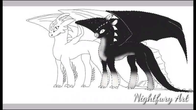 Alpha Nightlight and Fire fury Speedpaint