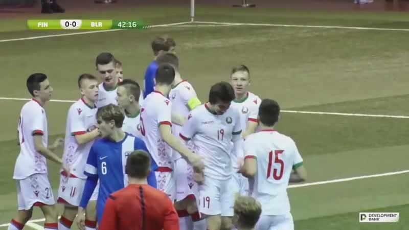 Гол Латыхова в ворота сборной Финляндии