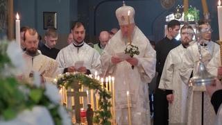 В Троицкую родительскую субботу митрополит Брянский и Севский Александр совершил литургию