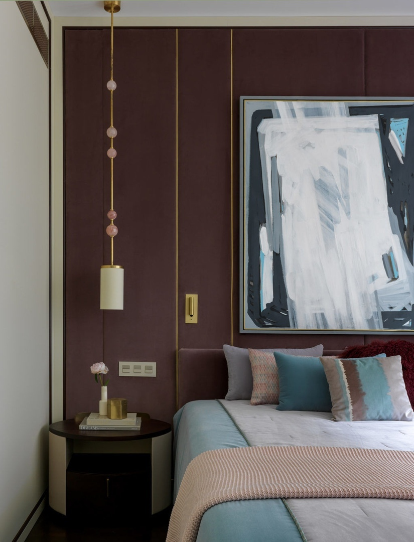 Квартира с атмосферой ар‑деко, 68 м² от Елены Симкиной
