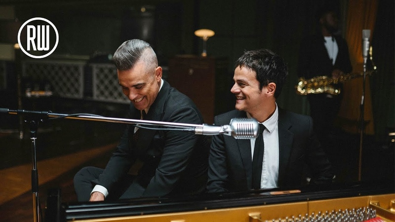 Robbie Williams Merry Xmas Everybody ft Jamie Cullum Official Video